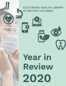Cover of the Year in Review 2020 report